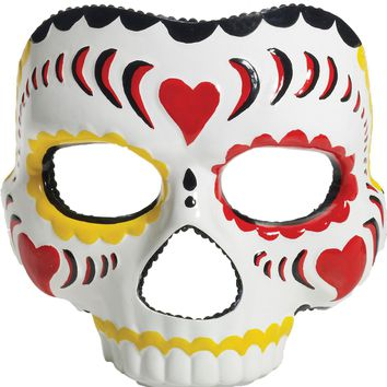 Day Of The Dead Female Mask for Halloween