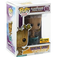 Funko Marvel Guardians Of The Galaxy Pop! Dancing Groot Vinyl Bobble-Head Hot Topic Exclusive