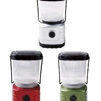 Portable 2 in 1 All Purpose Super Bright LED Camping Lantern With Dimmer Switch (Colors Vary)
