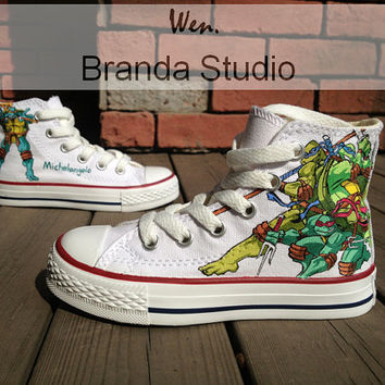 KidsTeenage Mutant Ninja TurtlesStudio Hand by Brandastudio