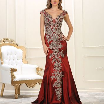 Long Formal Prom Evening Dress