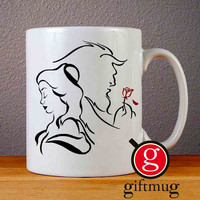 Disney Beauty and the beast Ceramic Coffee Mugs