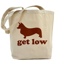 Get Low Corgi Tote Bag on CafePress.com