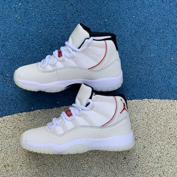 [Free Shipping ]Nike Air Jordan 11 Retro BG GS XI Platinum Tint Womens Youth Shoes 378038-016  Basketball Shoes