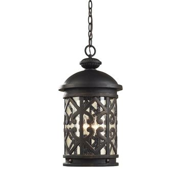Tuscany Coast Collection 3 Light Lantern Pendant