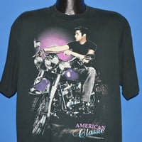 90s Elvis Presley Motorcycle t-shirt Extra Large