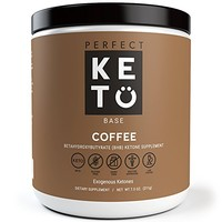Perfect Keto Coffee Exogenous Ketones: Base BHB Salts Supplement- Ketones for Ketogenic Diet Best to Support Energy, Focus and Ketosis Beta-Hydroxybutyrate BHB Salt