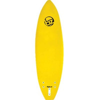 BZ SOFT SURFBOARD NEW MODEL 7' YELLOW