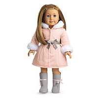 American Girl® Clothing: Pretty Pink Coat Set + Charm