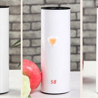 Touch Sensing Travel Cup With Temperature Display - FeelGift