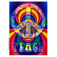 Fractal Peace Poster on Sale for $6.99 at HippieShop.com