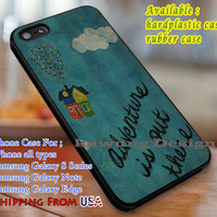 Adventure is Out There Quote Disney iPhone 6s 6 6s+ 6plus Cases Samsung Galaxy s5 s6 Edge+ NOTE 5 4 3 #cartoon #disney #animated #up dL3