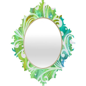Rosie Brown Happy Dance Baroque Mirror