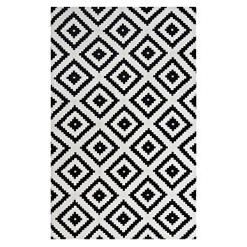 Alika Abstract Diamond Trellis 8x10 Area Rug