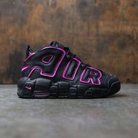 DCCK Nike Air More Uptempo Black/Pink 415082-003 Size 36-40