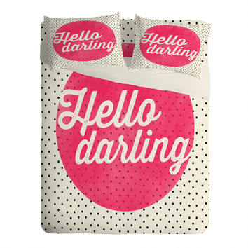 Allyson Johnson Hello Darling Dots Sheet Set Lightweight