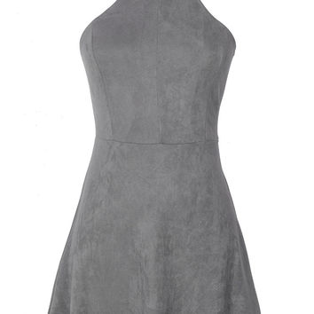 Cupshe Call Attention Lace Up Dress