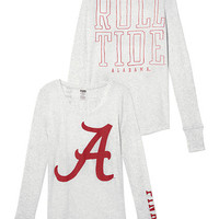 University of Alabama Long-sleeve Thermal Tee - PINK - Victoria's Secret