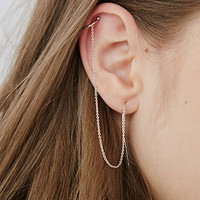 Chain Earcuff & Stud Set
