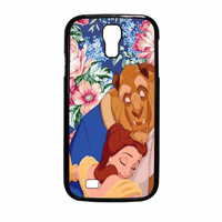 Beauty And The Beast Floral Vintage Samsung Galaxy S4 Case