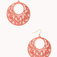 Standout Filigree Hoops