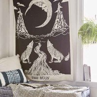 Magical Thinking Moon Tarot Tapestry