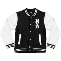 Black Veil Brides Men's  School Of BVB Varsity Jacket Black