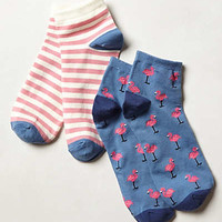 Flamingo Sock Set