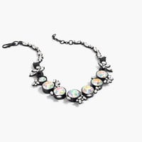 J.Crew Womens Iridescent Crystal Necklace