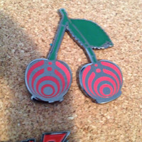Bass Cherry Hat Pin Bassnectar