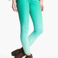 Free People Ombré Skinny Jeans (Graphite) | Nordstrom