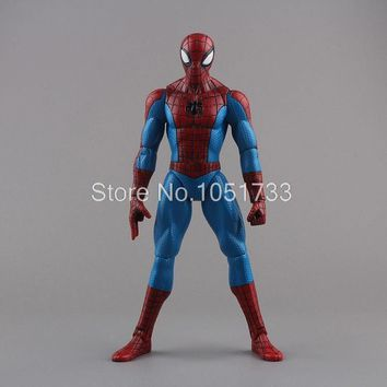 "Spiderman Toys Marvel Superhero The Amazing Spider-man PVC Action Figure Collectible Model Toy 8"" 20CM"