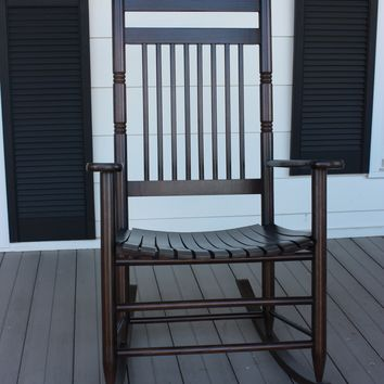 Dixie Seating Co. Calabash Wood Rocking Chair No. 467SRTA  - Ships within  2 to 4 Weeks