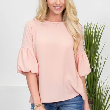 Sweet Peach Belle Top