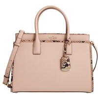 kate spade new york cameron street candace leather satchel   Nordstrom