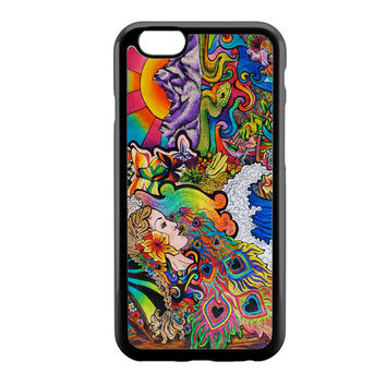 Psychedelic Nature Art Mother iPhone 6 Case