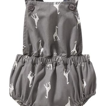 07400e29c6d3 Old Navy Giraffe Print Bubble Rompers For from Old Navy