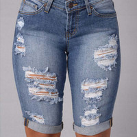Jeans for women short jeans shorts cowgirl
