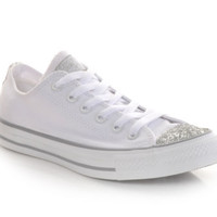 Women's Converse Chuck Taylor All Star Toecap Sparkle | Shoe Carnival