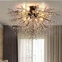 Ceiling Light Fixture Crystal Lustres Lamp for Living room Bedroom Crystal Ceiling Lamp Home Lighting Ceiling Lights
