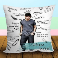 Calom Hood 5 Seconds Of Summer Art Lyrics - Pillow Case, Square and Rectangle One Side/Two Side.