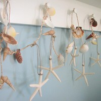 Seashell Garland Beach Decor - Naut.. on Luulla