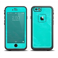 The Subtle Neon Turquoise Surface Apple iPhone 6 LifeProof Fre Case Skin Set