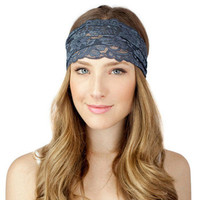 Wide Lace Adult Headbands