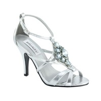 Prom Shoes | Silver Prom Shoes | Prom Dresses | Heidi by Dyeables 27613 Silver Strappy Sandal | GownGarden.com