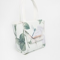 Ted Baker Distnguish Rose Cross Hatch Small Tote