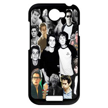 Evan Peters Collage 2 HTC One S Case