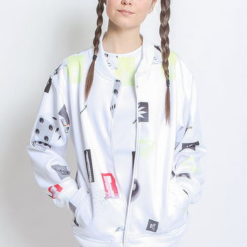 NEO HIGH COLLAGE BOMBER