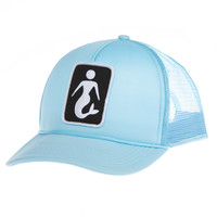 FIN Made - Mermaid Snapback | Sky