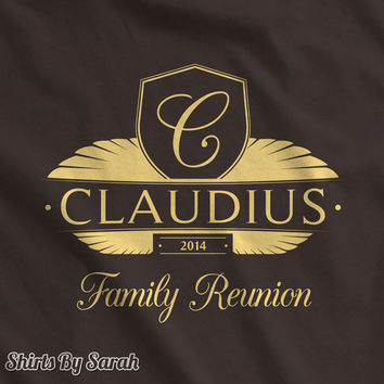 Vintage Crest Family Reunion Shirts - T-Shirts Families Reunions Vacations Unisex Men's Women's